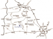 map of hill country