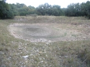 used to be a pond