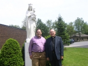 Jason & Fr. Kennedy, Watertown, NY